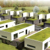 Nova lei na França obriga prédios comerciais a terem telhado verde ou paineis solares